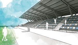 Reforma y ampliación del campo de fútbol de Soto de la Marina-Sancibrián (Cantabria)