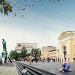 EL ESTUDIO ESPAÑOL FENWICK IRIBARREN ARCHITECTS  GANA EL CONCURSO PARA LA REMODELACIÓN DE LA GRAN PLAZA SAVSKI EN BELGRADO
