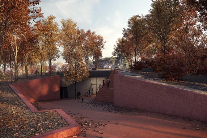La propuesta de BCQ en equipo con Anna Codina Arquitectura, gana el concurso por el nuevo «Museu de Vulcanologia Espai Cràter» en Olot.