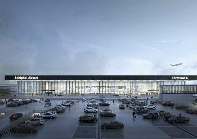 Vista exterior de la nueva terminal