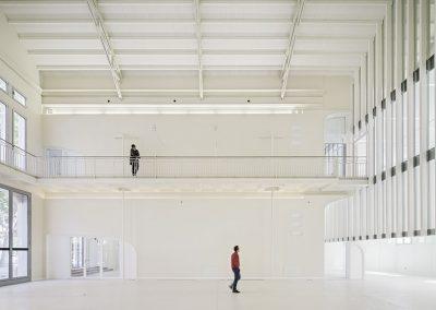 Nuevas aberturas en los muros permeables interiores