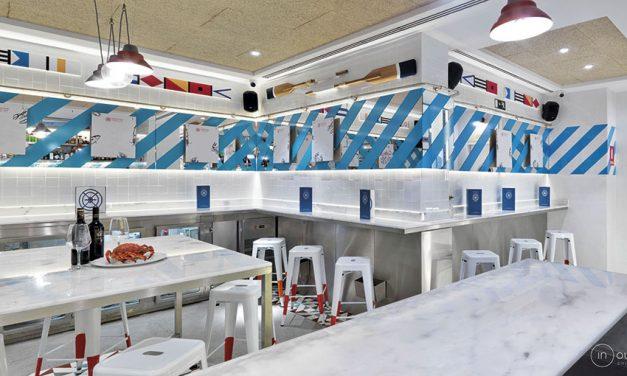 Reforma del restaurante Marisquería Norte Sur en Madrid