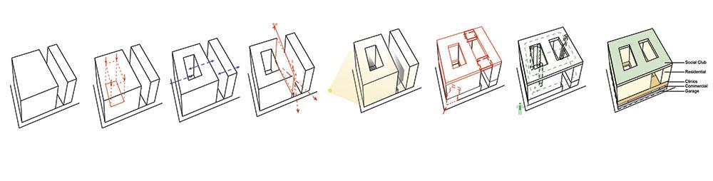 Patio para mejorar la ventilación y luz natural