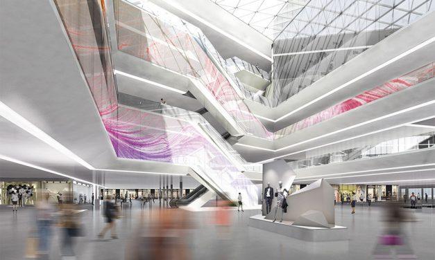 Nuevo centro comercial Kaubamaja y oficinas en Tallin (Estonia)