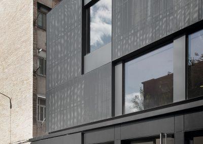 Lamas de protección solar (visión desde el exterior y el interior)