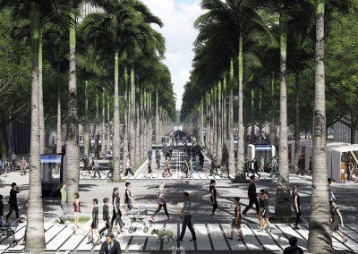 Los habitantes disfrutarán de zonas libres de vehículos