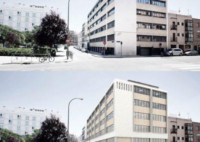 Estado anterior del edificio