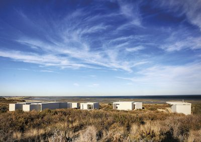 El proyecto se encuentra ubicado en una reserva marina protegida en la Bahía de San Antonio (Argentina)