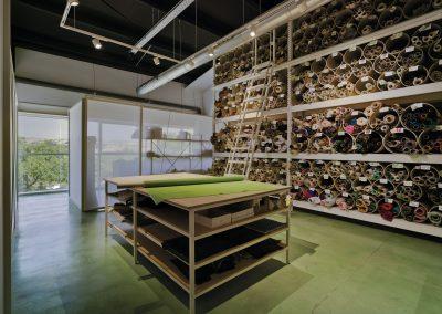 Presencia de textiles