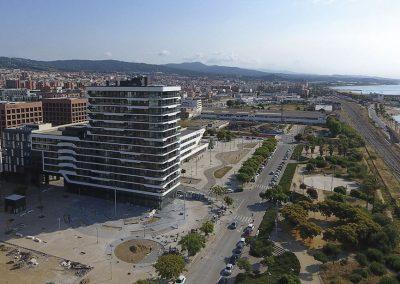 El proyecto se sitúa en primera línea de mar en Mataró