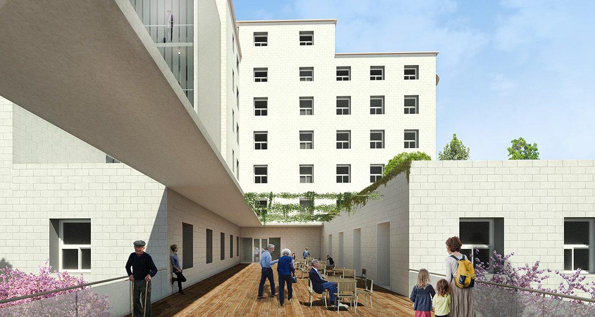 El estudio de arquitectura CASA SOLO ganador del concurso para la reforma del Hospital Verge del Toro, en Maó