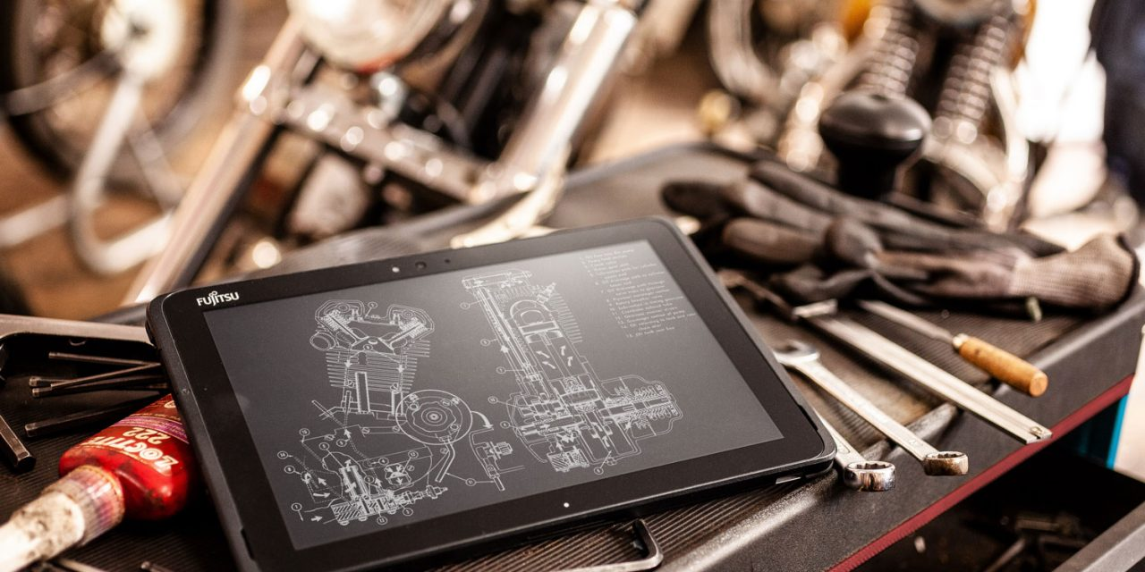 Fujitsu diseña una nueva tableta para trabajar en entornos hostiles la STYLISTIC Q509
