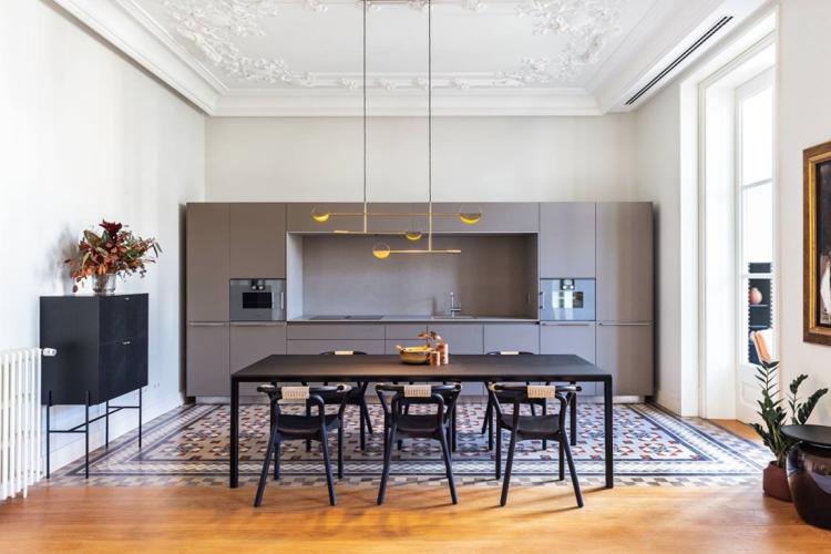 Coblonal realiza el interiorismo de un apartamento de la modernista Casa Burés