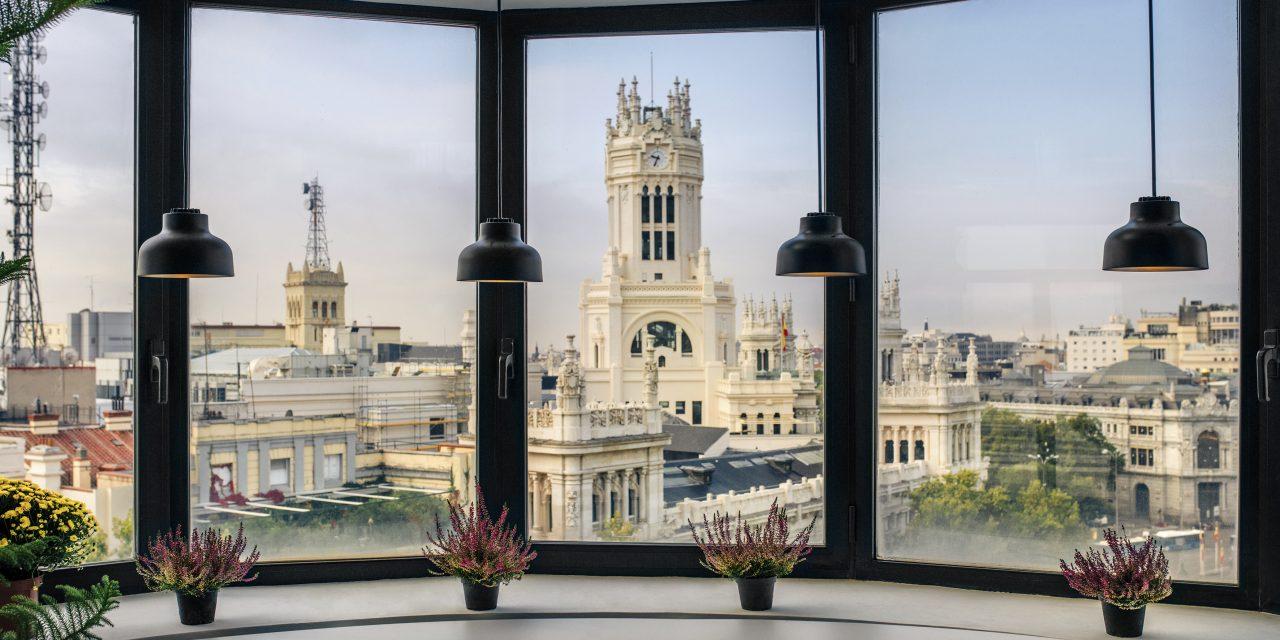 elastiko architects presenta su proyecto Cloudworks Cibeles en Madrid