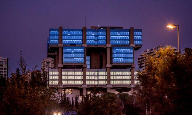 Tras su completa renovación, el edificio Los Cubos renace con un proyecto artístico basado en la luz