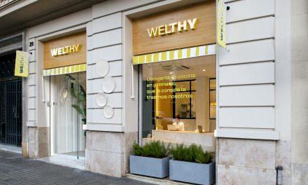 El estudio Beth Verdaguer diseña el interiorismo de la tienda de alimentación saludable Welthy en Barcelona