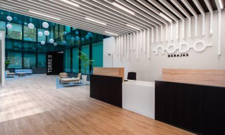 Axis Arquitectura finaliza la remodelación del edificio NODO en Madrid