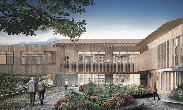 Pinearq diseña una residencia geriátrica de quinta generación en Italia