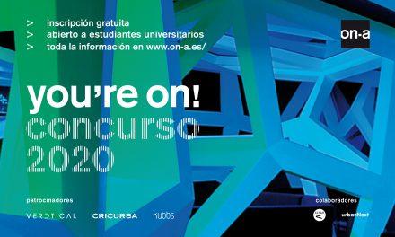 El estudio de arquitectura ON-A premia el talento emergente y la innovación con el concurso de ideas YOU'RE ON!