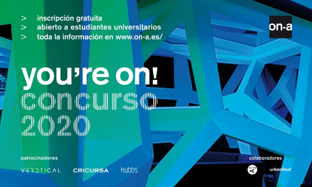 El estudio de arquitectura ON-A premia el talento emergente y la innovación con el concurso de ideas YOU'RE ON!