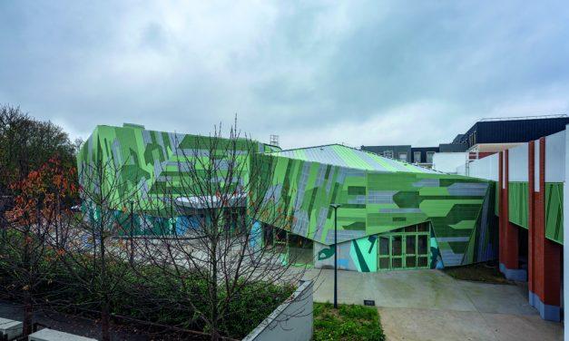 Le Pavillon de Romainville, la revelación verde para el patrimonio cultural por Miralles-Tagliabue EMBT e ilimelgo