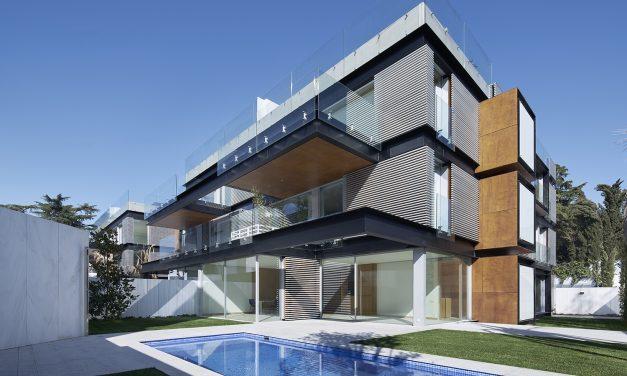 Bueso-Inchausti & Rein Arquitectos finaliza el conjunto residencial Madrigal 16 en Madrid