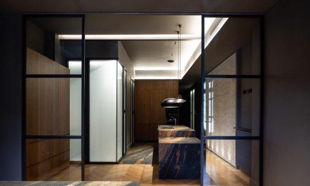 Murad García Estudio reforma una vivienda en un edificio histórico de Valencia