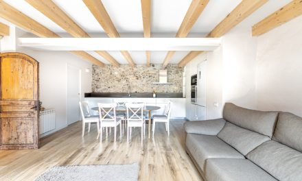 TAAB6 rehabilita una vivienda entre medianeras en Sant Feliu de Pallerols