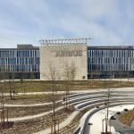 Felipe VI inaugura el Campus Airbus 'Futura' (Madrid) diseñado por Estudio Lamela