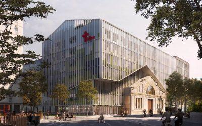 El histórico Nou hospital evangèlic construye una nueva sede en el 22@