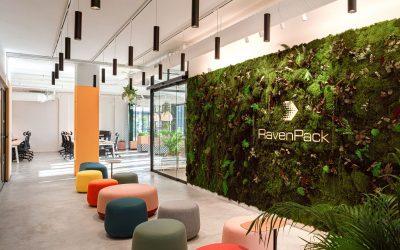 LEBLUME diseña las oficinas de Ravenpack en Marbella