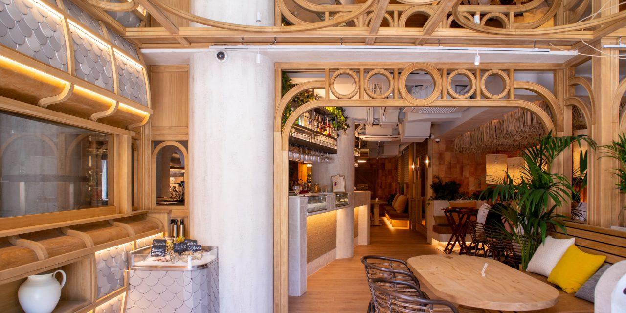 4Retail construye el nuevo restaurante Piropo en Madrid de DPoch Studio