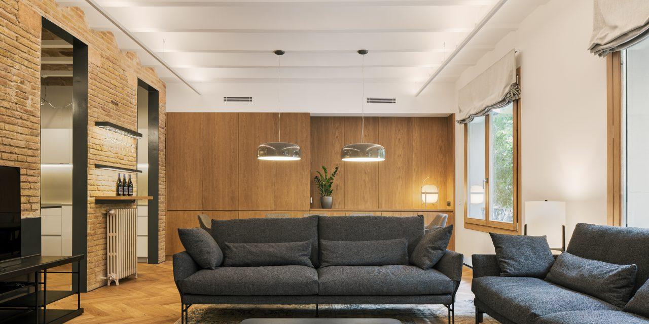 Recuperando capas: Reforma de un piso en la Bonanova (Barcelona) por Dom Arquitectura