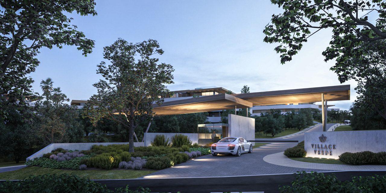 Primera piedra del proyecto Village Verde en Sotogrande diseñado por L35 Arquitectos