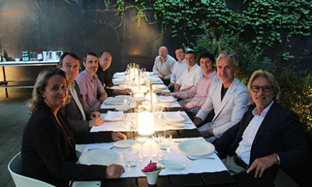Architecture Night Dinner en el jardín del Hotel Alma en Barcelona