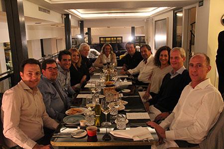 Architecture Night Dinner en el Hotel The Serras de Barcelona