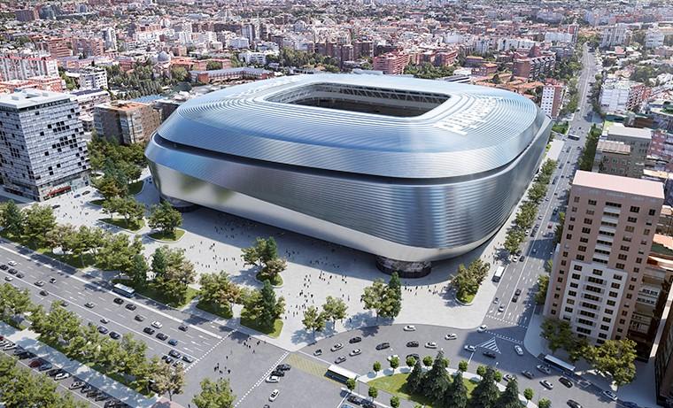 Arrancan las obras del estadio Santiago Bernabéu