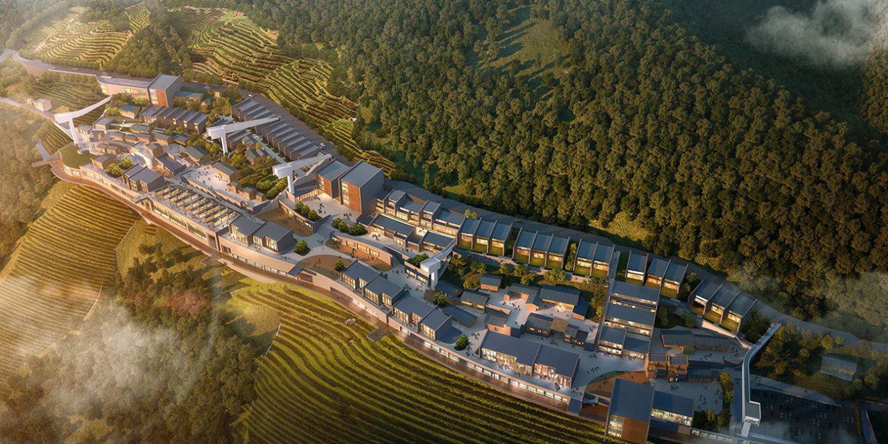 Latitude Architectural Group proyecta un complejo turístico en el Río Yangtsé en China