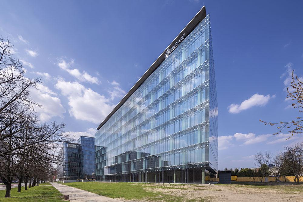 Nueva sede de Nestlé en Varsovia (Polonia)