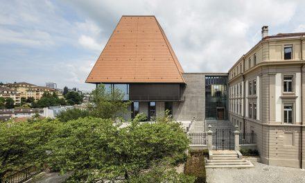 Nuevo Parlamento del Cantón de Vaud, Lausana (Suiza)