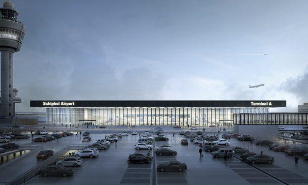 Nueva Terminal del Aeropuerto de Ámsterdam-Schiphol (Holanda)