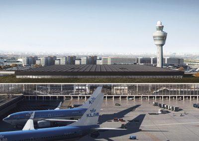 Integración de la nueva terminal en el aeripuerto