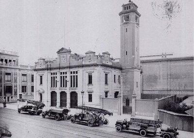 Antiguo parque de bomberos construido para la Expo 1929