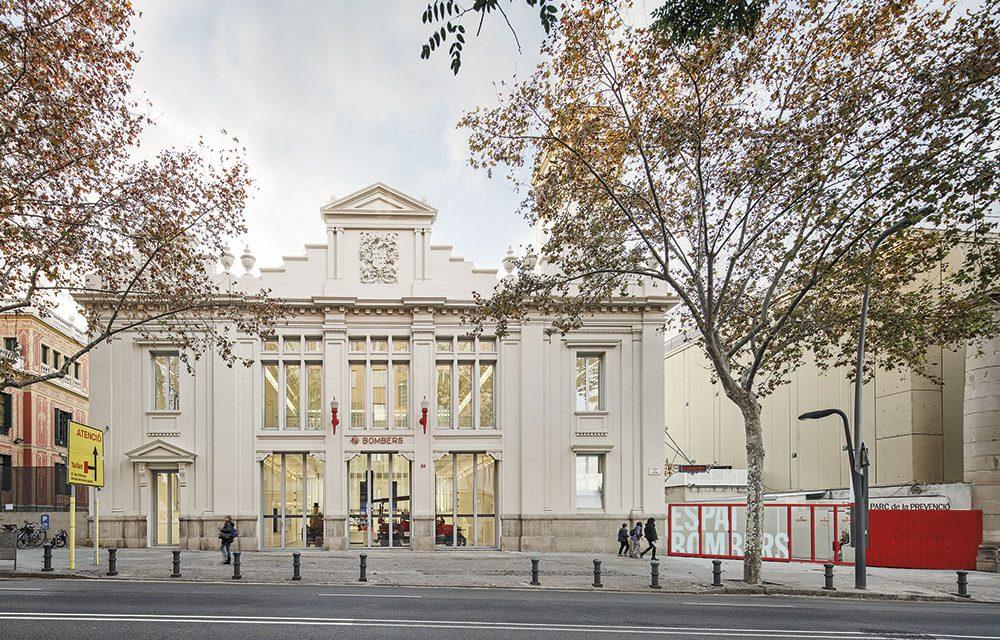 Reforma del Antiguo Parque de Bomberos del Poble Sec en Barcelona