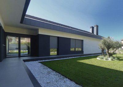 Piel continua formada por la cubierta, el suelo y las fachadas