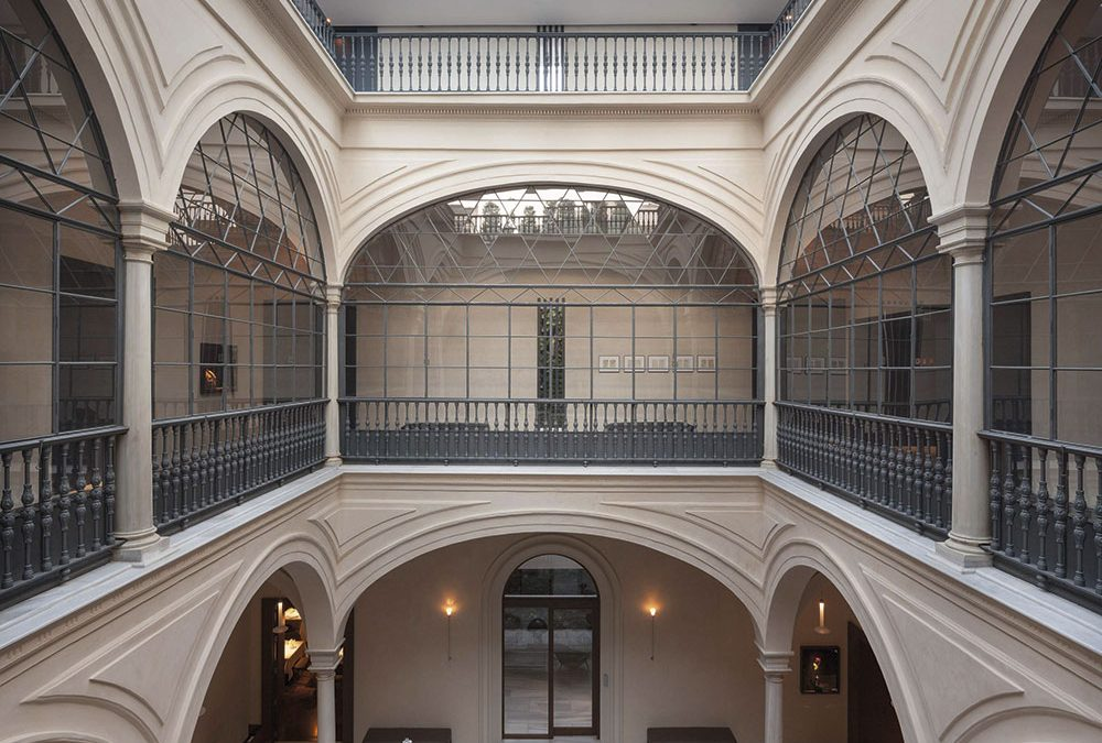 Rehabilitación para un uso más público de un edificio histórico