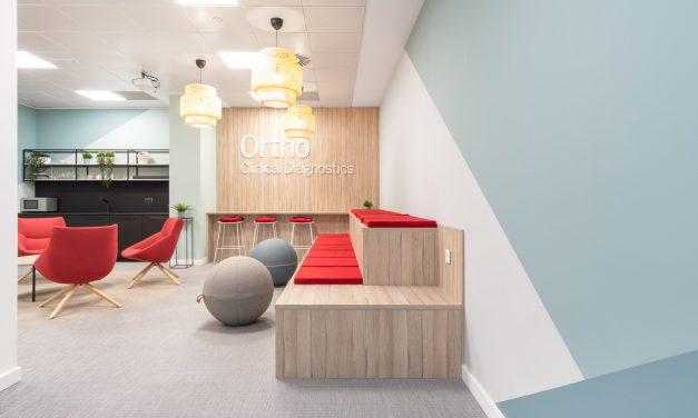 AXIS Arquitectura desarrolla el Design&Build de las nuevas oficinas de la multinacional Ortho Clinical Diagnostics