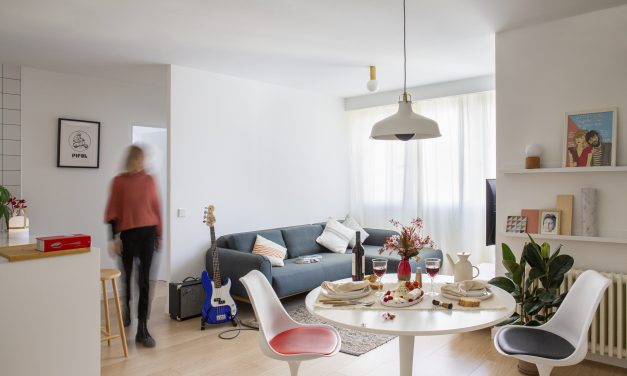 Reforma de una vivienda en Madrid por Another Office of Architecture (AOA)