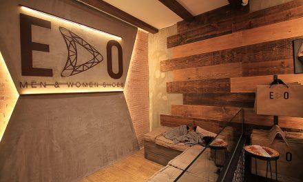 CREAM Estudio realiza EDO shoes shop en Sitges (Barcelona)