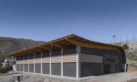 Makin Molowny Portela finaliza el Pabellón Municipal Valle San Lorenzo en Tenerife